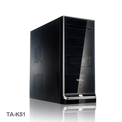 VENTO TA-K51 400W Siyah 1 x USB 2.0, 1 x USB 3.0, Atx Kasa