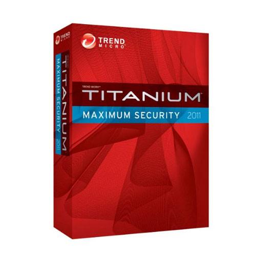 TREND MICRO TITANIUM MAXIMUM SECURITY Türkçe 3 Kullanıcı 1 Yıl Box
