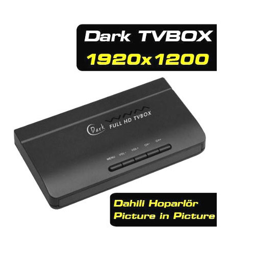 Dark DK-AC-TVBOX1920 Full HD Analog Tv Box