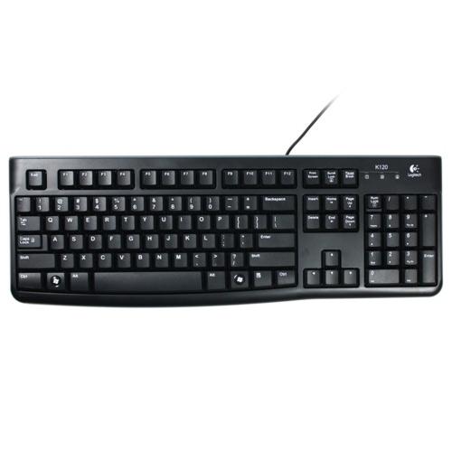 Logitech K120 920-002505 Q Usb Standart Siyah Klavye