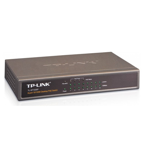 TP-LINK 8 Port TL-SF1008P 10/100 4x POE Switch