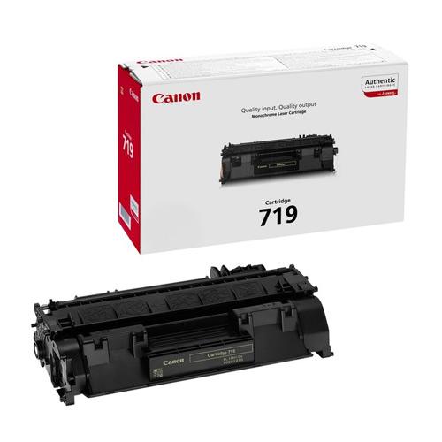 Canon CRG-719 Toner 2.100 Sayfa Siyah LBP-6300 LBP-6650 Modelleri
