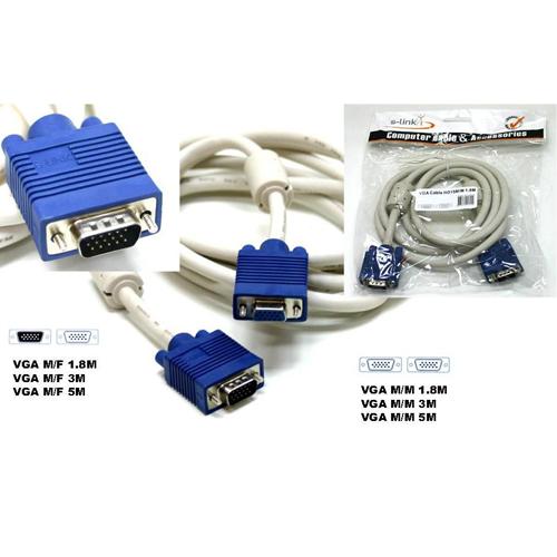 OEM SL-VGA18 E/E ( 1.8 Metre ) VGA Görüntü Kablosu