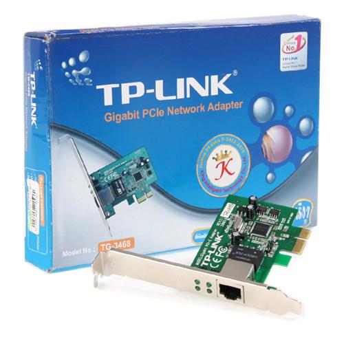 TP-LINK TG-3468 10/100/1000 32Bit Pci Express / PCIe 1.x Gigabit Ethernet Kartı