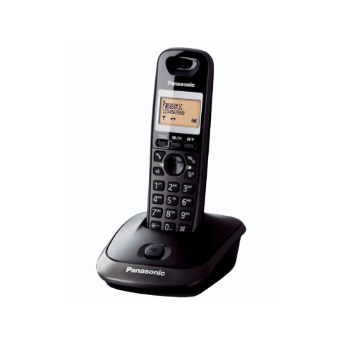 PANASONIC TG 2511 Dect Lcd Ekran Telefon Siyah