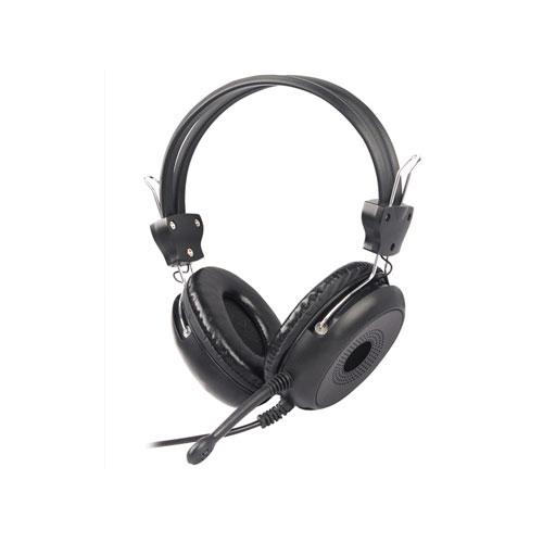 A4 Tech HS-30 Deri Mikrofonlu Kulaklık Siyah