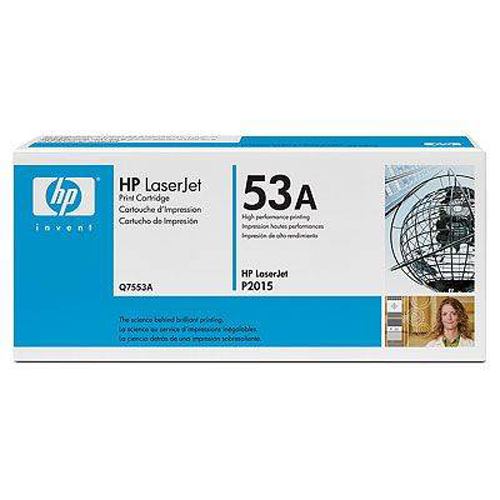 Hp Q7553A (53A) Toner 3.000 Sayfa Siyah LaserJet P2015 Serisi,P2014, 2727nfs,2727nf
