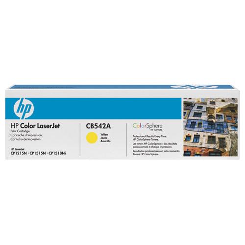 Hp CB542A Toner 1.400 Sayfa Sarı LaserJet Cp1215,Cp1515n, Cm1312,Cm1312nfi