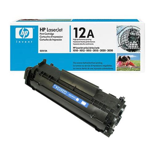 Hp Q2612A (12A) Toner 2.200 Sayfa Siyah Laserjet 1010,1012,1015,1018, 1020,1022,3015,3020,3030,M1005