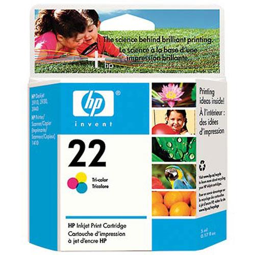 HP C9352AE (22) Renkli Mürekkep Kartuş
