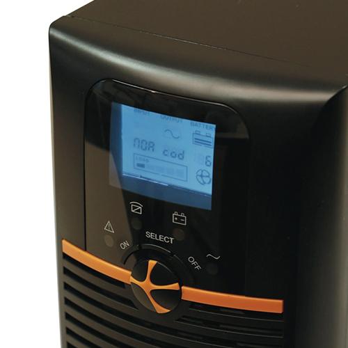 TUNÇMATİK TSK5309 Newtech Pro II X9 3 KVA On Line (5 - 15 Dk.) Lcd Ekran KGK 6*12V 9AH