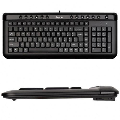 A4 TECH KL-40 F Usb Multimedya Siyah Klavye