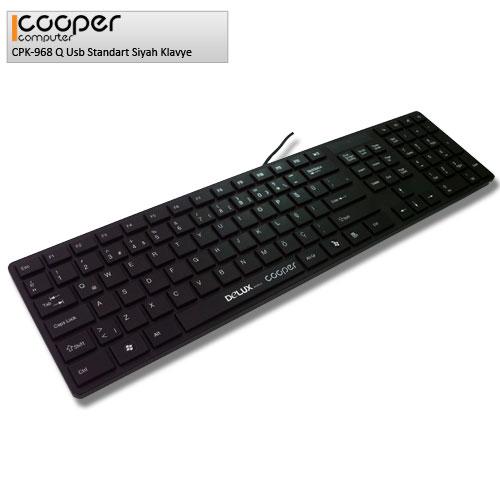 Cooper CPK-968 Q Usb Standart Siyah Klavye