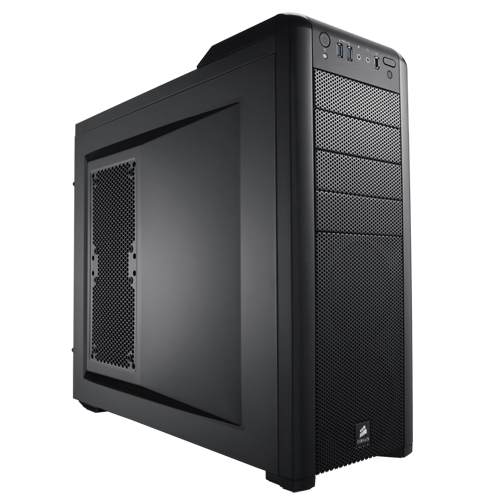 CORSAIR Carbide Series 400R CC-9011011-WW PSU Yok Mid Tower Gaming Kasa Mesh Panel Siyah Usb+Ses+Firewire