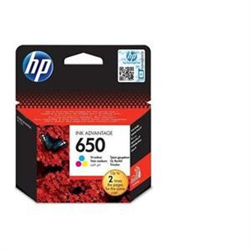 HP CZ102AE (650) Renkli Mürekkep Kartuş