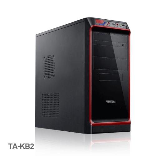 VENTO TA-KB2 350W Atx Kasa Siyah 1 x USB 2.0, 1 x USB 3.0,