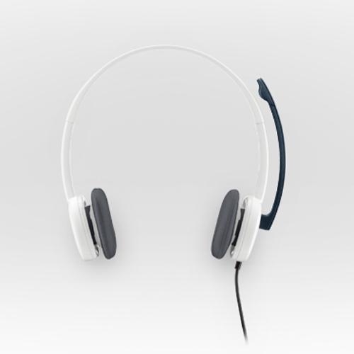 Logitech 981-000350 H150 Mikrofonlu Kulaklık Beyaz