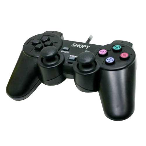 SNOPY SG-404 PS2+USB Dual Shock Titreşim li Gamepad