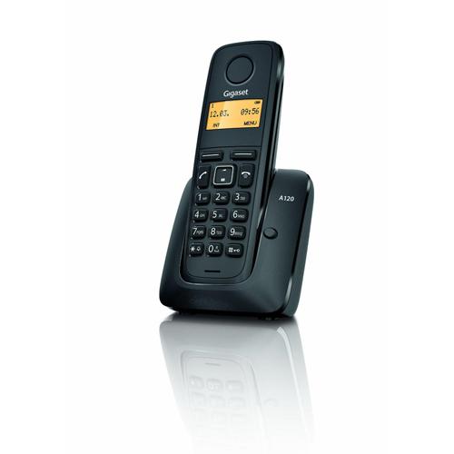 GIGASET A120 Dect Lcd Ekran Caller ID 50 Rehber Hafızalı Telefon Siyah