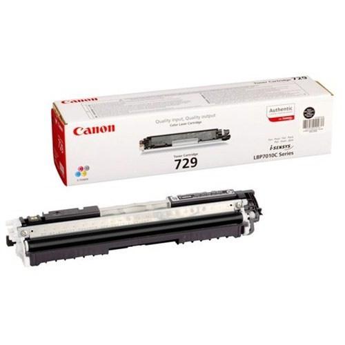Canon CRG-729BK Toner 1.200 Sayfa Siyah