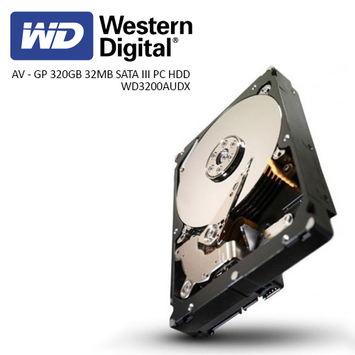 WD 3.5 AV - GP 320GB 32MB SATA III PC HDD WD3200AUDX