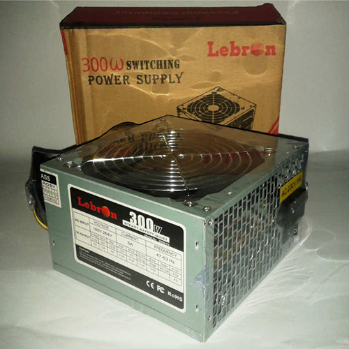 LEBRON 300W Atx Power Supply 12 Cm Fan