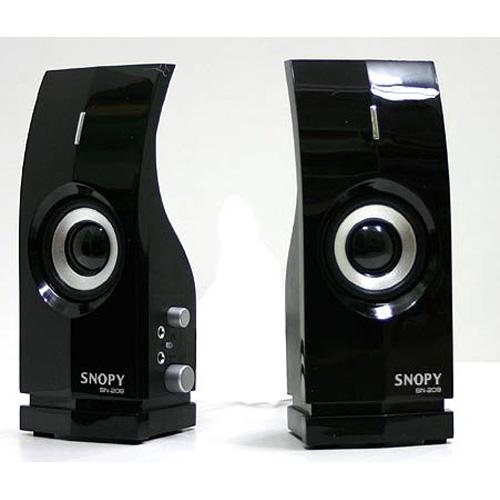 SNOPY SN-209 1+1 Gümüş-Siyah Speaker