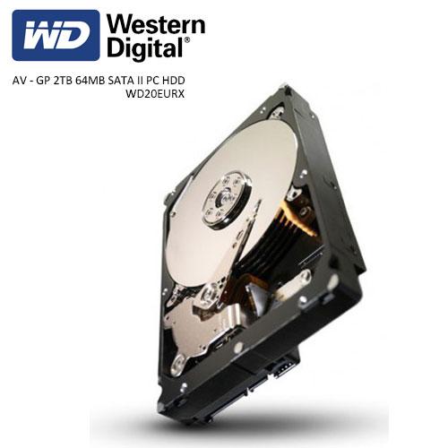 WD 3.5 2TB 5900 RPM 64MB SATA3 Güvenlik HDD WD20EURX (7/24)