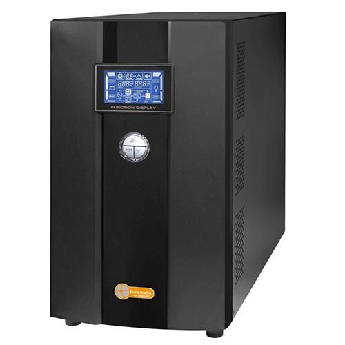 TUNÇMATİK TSK5112 Newtech Pro X9 10 KVA 1F/1F On Line (5 - 15 Dk.) Lcd Ekran KGK 20*12V 9AH