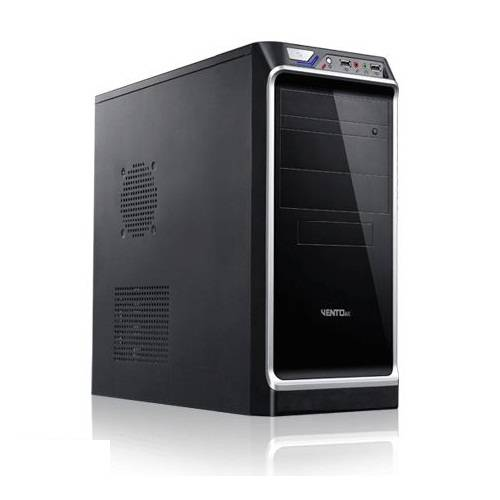 VENTO TA-KB1 450W Atx Kasa Siyah 1 x USB 2.0, 1 x USB 3.0,