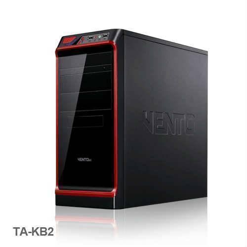 VENTO TA-KB2 450W Atx Kasa Siyah 1 x USB 2.0, 1 x USB 3.0,