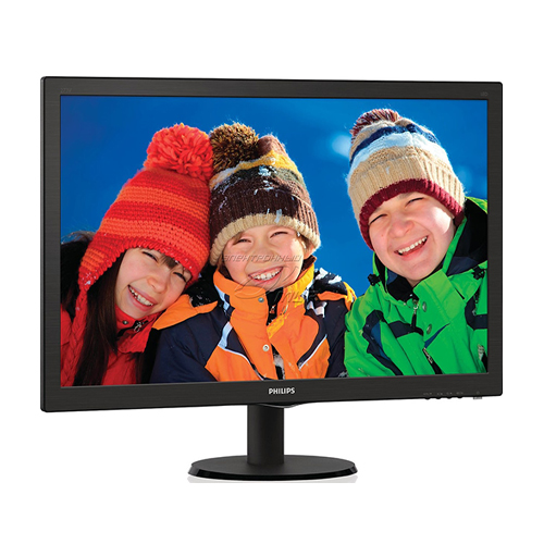 PHILIPS 27 273V5LHAB-00 6Ms M.M 2W×2 Analog + DVI + HDMI Led Monitör Siyah