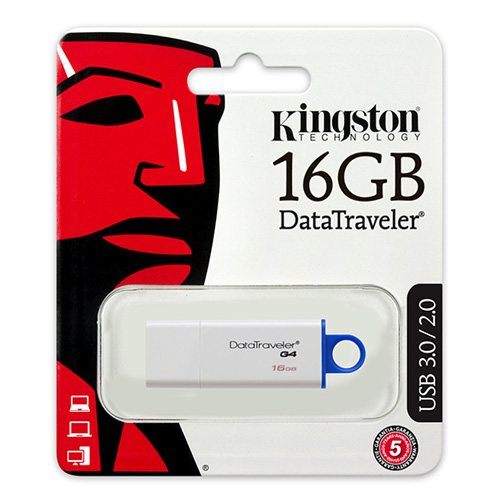 KINGSTON 16GB Usb 3.0 Flash Disk DTIG4/16