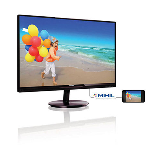 PHILIPS 27 274E5QHAW-00 6Ms M.M 2W×2 Analog + DVI + HDMI LED Lcd Monitör Beyaz