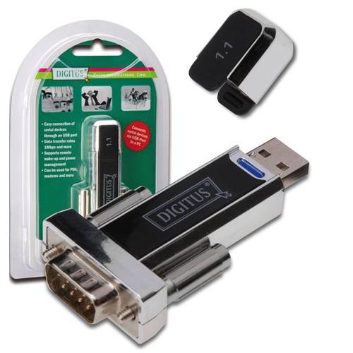 Digitus DA-70156 USB 2.0 - RS232 Dönüştürücü Adaptör
