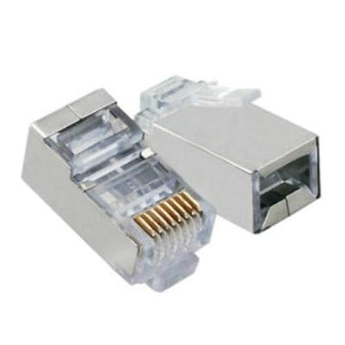 S-LINK SL-M66 Cat-6e 100 Adet FTP Konnektör Metal Uçlu