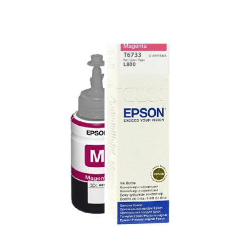 EPSON C13T67334A 70 ML. Kırmızı Mürekkep Kartuş (Tanklı)