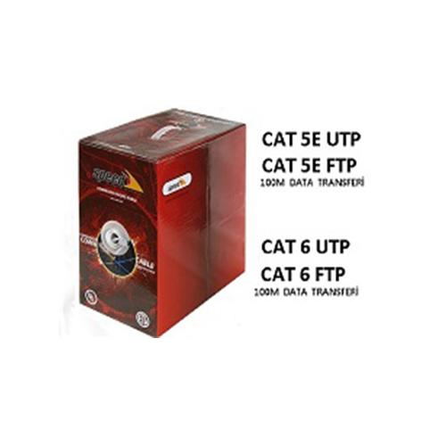 SPEED Cat6 Ftp ( 305 Metre ) % 99 Bakır 23 Awg Network Kablosu