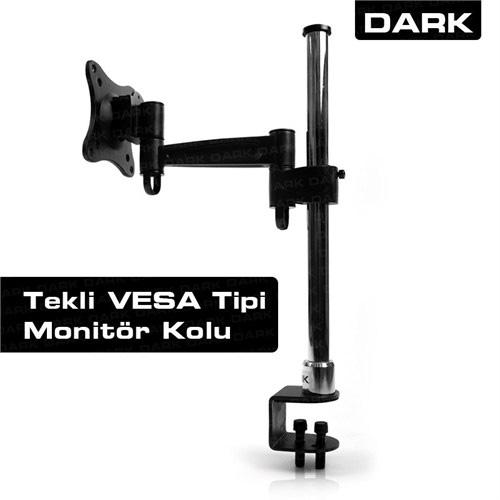 DARK 1 Monitör 13-27 Masa Tipi LCD Monitör ve TV Kolu DK-AC-VM10