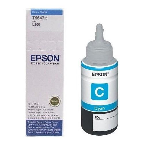 EPSON C13T66424A 70ML Mavi Mürekkep Kartuş