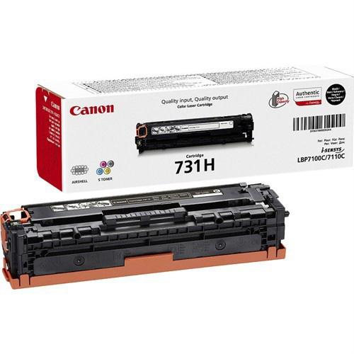 Canon CRG-731HBK Yüksek Kapasiteli Toner 2.400 Sayfa Siyah