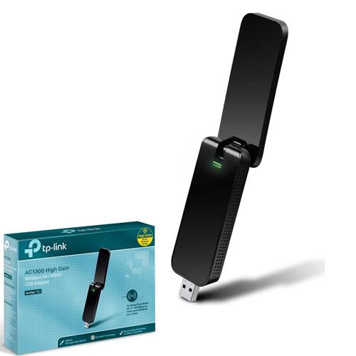 TP-LINK ARCHER-T4U 867Mbps 802.11g/11b USB Dual Band Kablosuz Adaptör (5GhZ + 2.4GhZ)