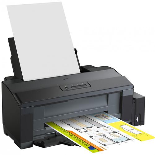 EPSON C11CD81401 ITS TANKLI L1300 Inkjet 17 ppm S/B 15 ppm Renkli Renkli A3/A4 Yazıcı USB 2.0