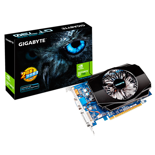 GIGABYTE Nvidia 2GB GT730 DDR5 64 Bit GV-N730D5-2GL HDMI DVI