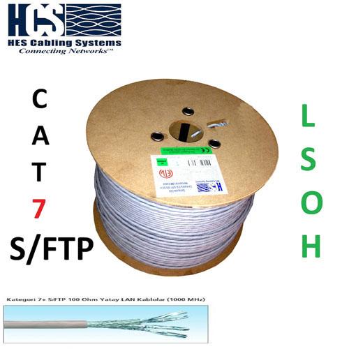 HCS H07-00402-DP Cat7 S/FTP ( 500 Metre ) 4x2x23# Network Kablosu