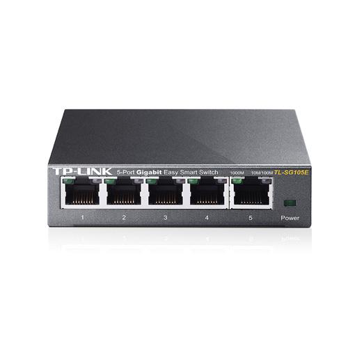 TP-LINK 5 Port TL-SG105E 10/100/1000 Gigabit Switch