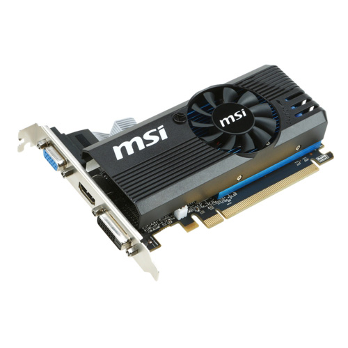 MSI AMD 2GB R7 240 2GD3 LPV1 DDR3 128 Bit DVI HDMI