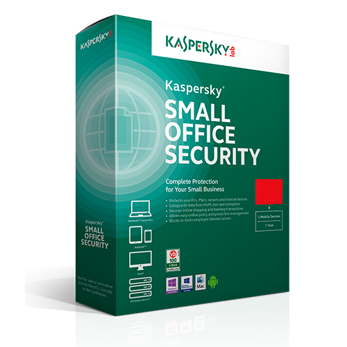 KASPERSKY Small Office Security 10PC + 10MD + 1FS 3 Yıl Box