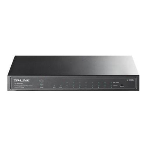 TP-LINK TL-SG2210P 8 Port 10/100/1000 2x SFP PoE Switch (58W) (Siyah Çelik Kasalı)
