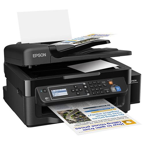 EPSON C11CE53401 TANKLI L565 Renkli Inkjet Yazıcı A4 Fotokopi Tarayıcı Fax Network,Wireless,USB 2.0